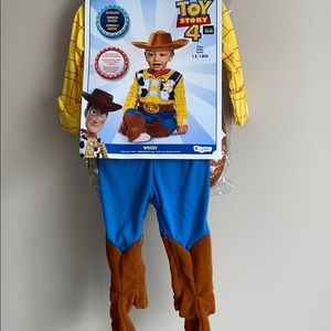 Toy Story 4 Woody Costume NWT
